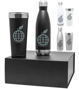 Eco Holiday Drinkware Set Special Holiday Gifts 2017 Eco Friendly Holiday Gifts Branded