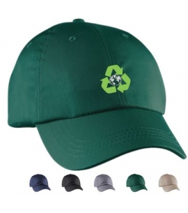 Embroidered recycled baseball cap