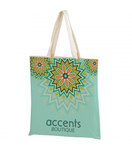 Full Color Cotton Canvas Tote Bag Custom Cotton Bag