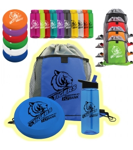 Fun Kit - Flyer Water Bottle Backpack Set