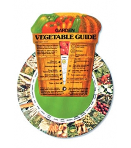 Garden Vegetable Education Wheel | USA Made