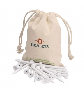 Golf Tees Set Organic Pouch Eco Golf Promo