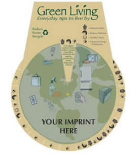 Green Living Education Wheel | USA Made