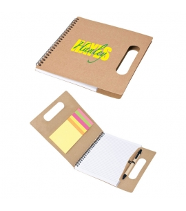 handled notebook