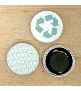 Hemp Paper Magnets | Recycled | USA Made