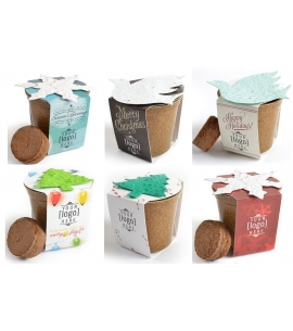 Eco Holiday Gifts Holiday Gifts 2017 Holiday Planter Kits Eco Friendly Holiday Gifts