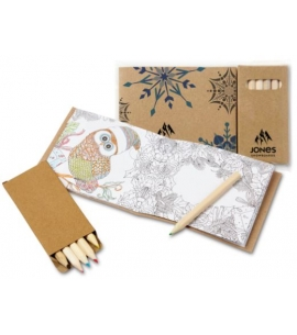 Holiday Themed Adult coloring book  recycled promotional product Promotional Holiday Gifts