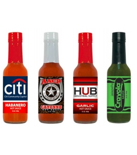 USA Made 5 oz Hot Sauce | Full Color