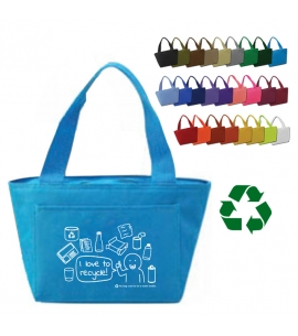 America Recycles | Recycled Insulated Lunch Bag | 6-Pack Cooler