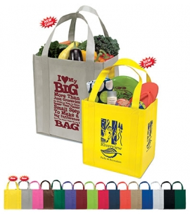 Reusable Grocery Bag | Recycled | 12x8x13