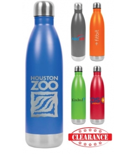 Insulated Stainless Steel Water Bottle  26 oz