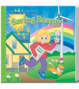 learn about saving energy book for kids activity book earth day giveaways