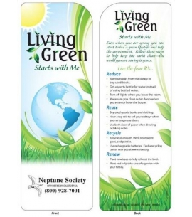 Eco Friendly Bookmarks Wholesale Bookmarks Earth Day Bookmarks
