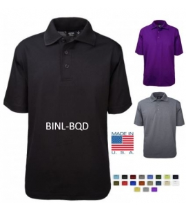 USA men's performance polo