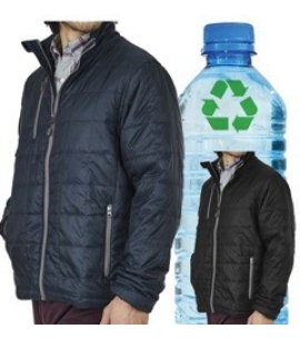 Unisex recycled water bottle jacket