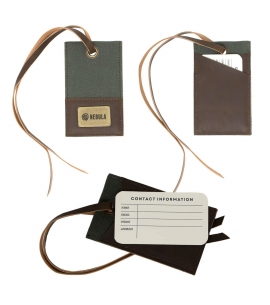 Myers Vintage Custom Luggage Tag