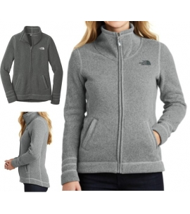 Custom Women's North Face Sweater Jacket
