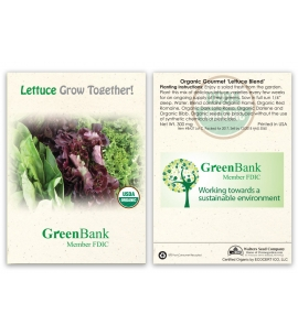 Custom Seed Packets | USA Made | Organic