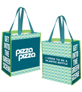 R.P.E.T. Recycled Jumbo Grocery Tote bag Recycled Promotional Product