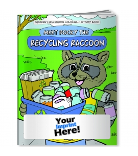 Personalized Coloring Books USA Made Recycling Activity Books
