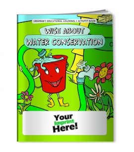 Personalized Cooking Books USA Made Water Conservation Wholesale Coloring Books