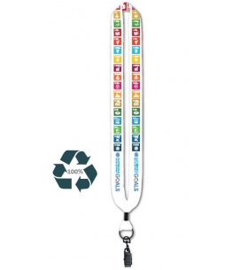 Custom Eco Lanyards USA Made Recycled Promotional Product