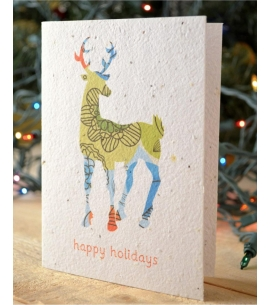 Plantable Holiday Cards Seeded USA Made