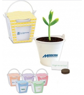 Planter Kit in Mini Bucket