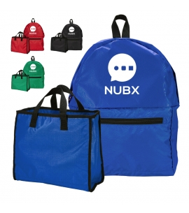 Promotional Convertible Backpack Tote - Multi-functional