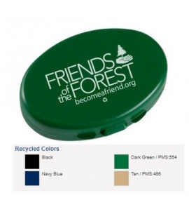Custom Pill Case Recycled Promotional Product