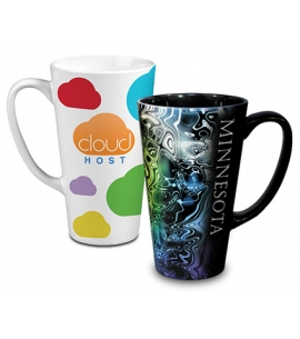 16 oz Tall Ceramic Mug - Full Color Sublimation