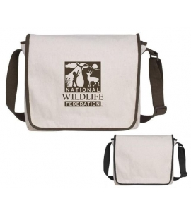 Recycled Cotton Messenger Bag Recycled Promotional Products Recycled Bags Eco Bags