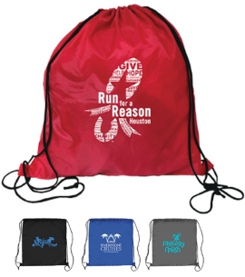 Recycled Drawstring Backpack