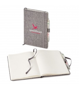 Recycled Gray Journal and Pen Set