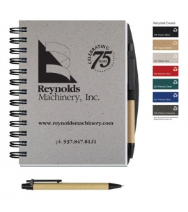Recycled Journals with Pen