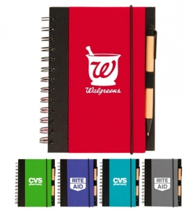 Recycled Notebook Recycled Jotter Eco Friendly Notebook Recycled Promotional Product Recycled notebooks for meetings