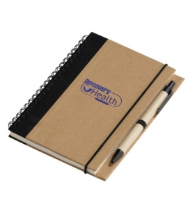 Recycled Notepad with Pen Eco Notebook Recycled Promotional Product