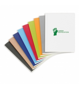 recycled perfect bound notebook