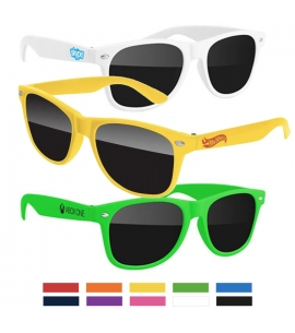 Recycled Retro Promotional Kids Sunglasses