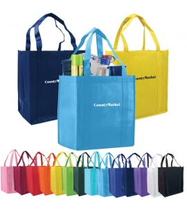 reusable economy custom tote bag