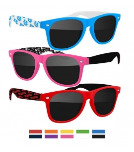 Recycled Sunglasses - Step and Repeat imprint