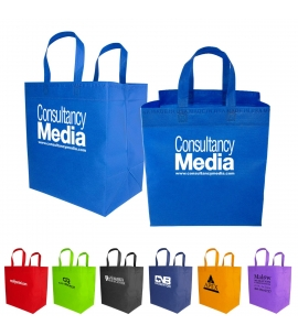 Reusable Grocery Bag  USA Made from Imported Fabric