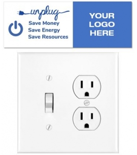 Save Energy Removable Decal