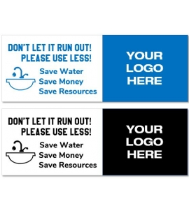 Save Water Removable Decal