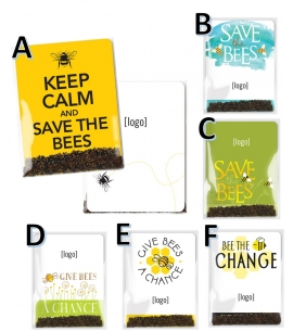 Save the Bees Wildflower Seed Packet