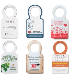 Seeded Wine Knecker Seed Paper Wine Tag Eco Friendly Wine Tags