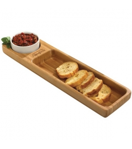 Custom bamboo serving tray, wholesale bamboo gifts wholesale epicurean gifts