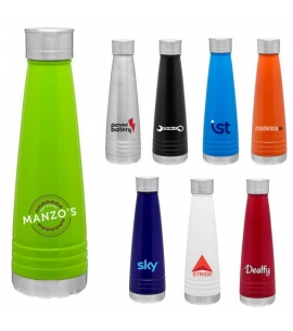 Insulated Stainless Steel 14oz Bottle Custom Imprinted Colors