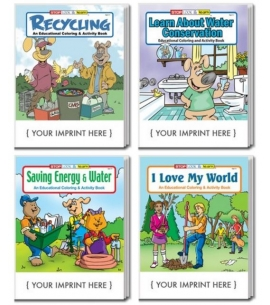 Eco Friendly Activity Books for Kids