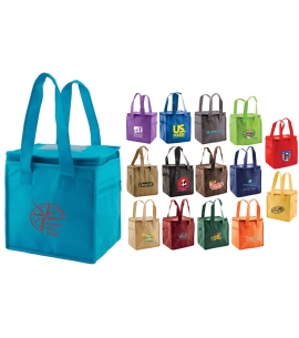 Insulated Lunch Tote Insulated Cooler Bag Thermo Tote Recycled Promotional Product